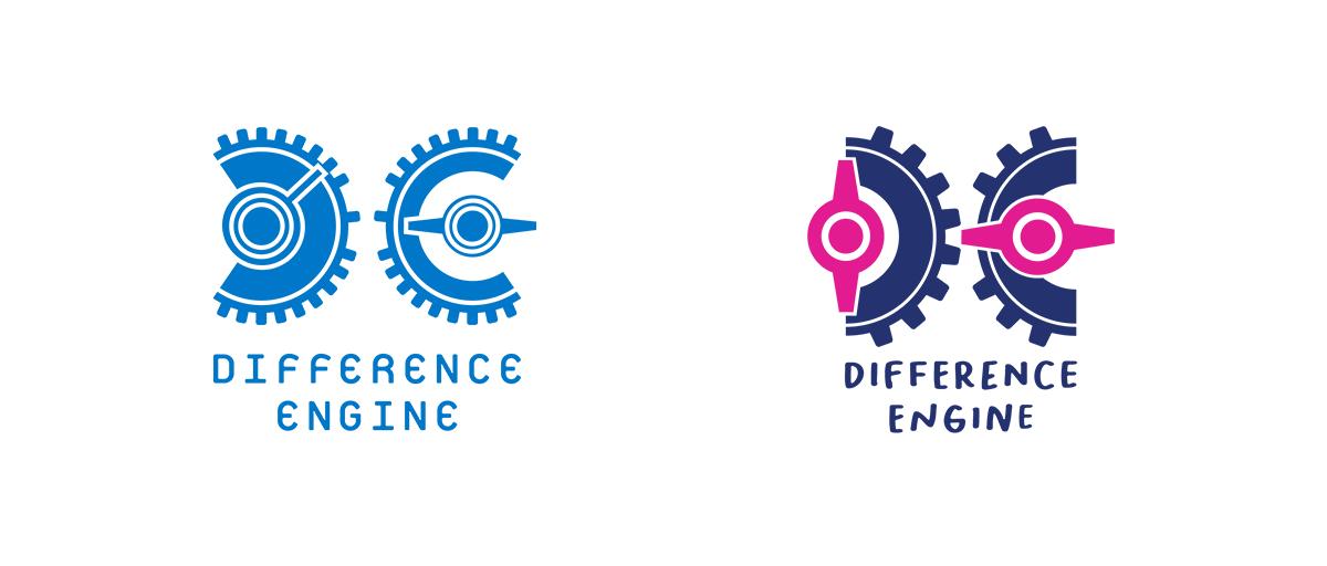 From left to right: The old logo and the new logo